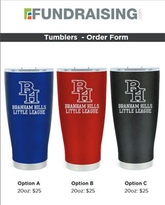 Custom Tumblers Order-Taker Fundraiser