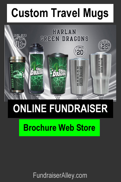 Custom Travel Mugs Online Fundraiser