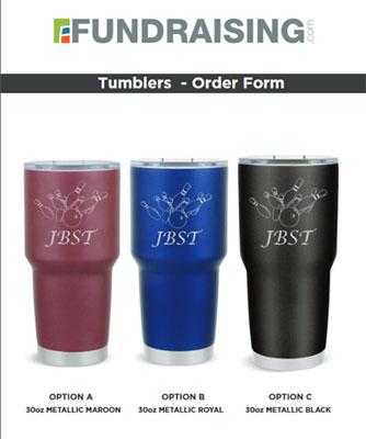 Custom 30oz Tumblers Order-Taker Fundraiser