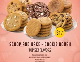 Top Six Flavors Cookie Dough Fundraiser