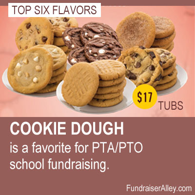 Cookie Dough is a Favorite Fundraiser for PTA/PTO School Fundraising!