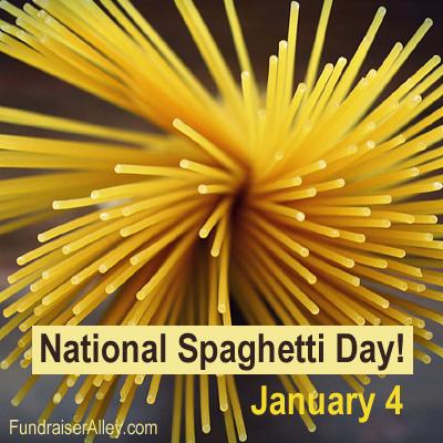National Spaghetti Day, January 4
