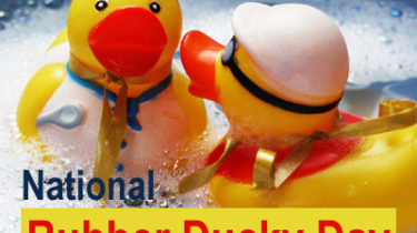 National Rubber Ducky Day, January 13
