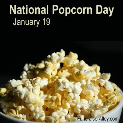 National Popcorn Day, January 19