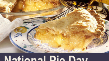 National Pie Day, January 23