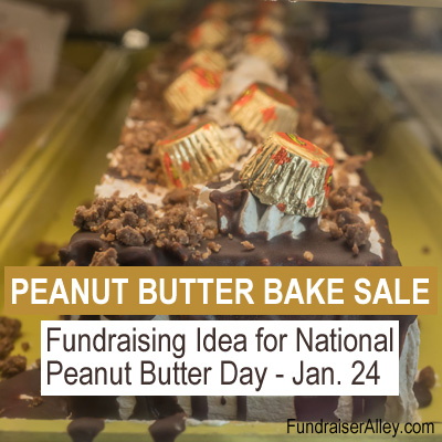 Peanut Butter Bake Sale Fundraiser