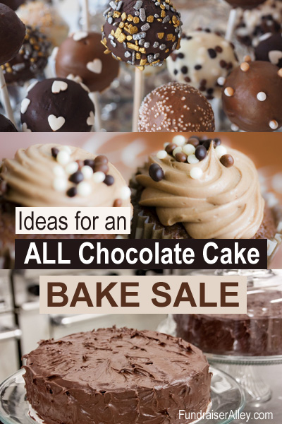 Ideas for an ALL Chocolate Cake Bake Sale