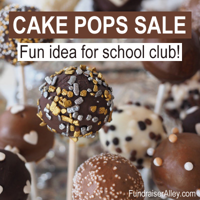 Cake Pops Sale, Fun Idea for school club!
