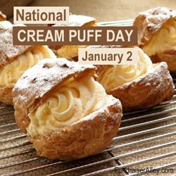 Cream Puff Day - Jan 2