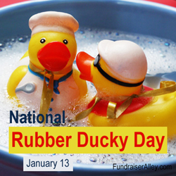 Rubber Ducky Day - Jan 13