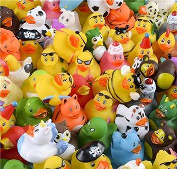Assorted Rubber Duckies