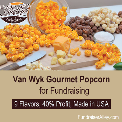 Van Wyk Popcorn Bags Fundraiser