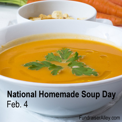 National Homemade Soup Day, Feb 4