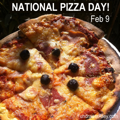National Pizza Day, Feb 9