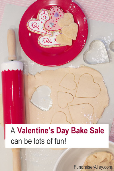 A Valentines Day Bake Sale can be lots of fun!