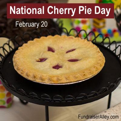 National Cherry Pie Day, February 20