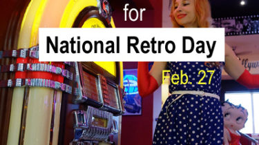 Plan a Retro Dance Fundraiser for National Retro Day, Feb 27