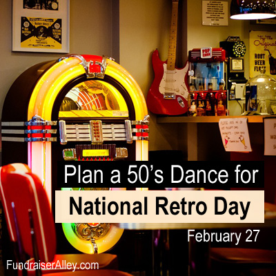 Plan a 50s Dance for National Retro Day, Feb 27
