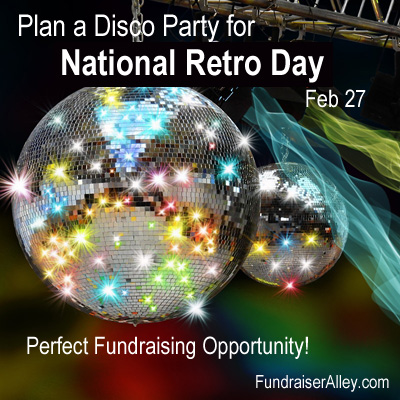 Plan a Disco Party for National Retro Day, Feb 27