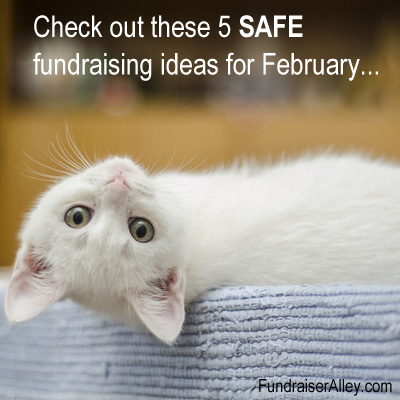 5 Safe Fundraising Ideas for February