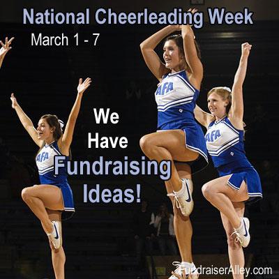 National Cheerleading Week - We Have Fundraising Ideas!