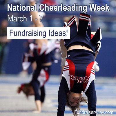 Fundraising Ideas - National Cheerleaders Week