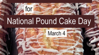 Pound Cake Bake Sale