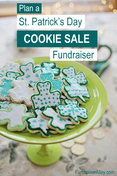 Plan a St Patricks Day Cookie Sale Fundraiser