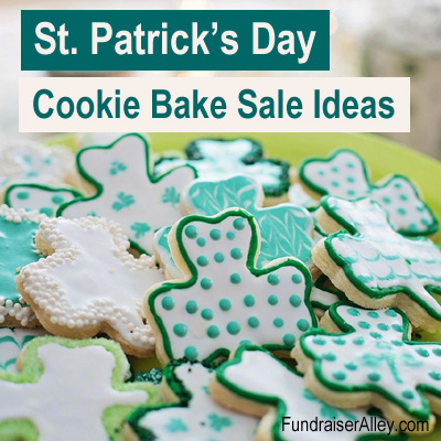 St Patricks Day Cookie Bake Sale Ideas