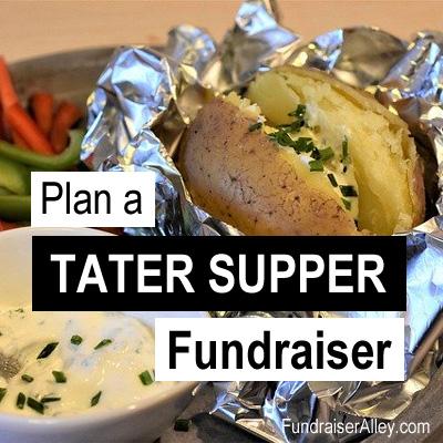 Plan a Tater Supper Fundraiser