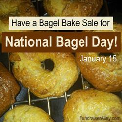 Bagel Bake Sale