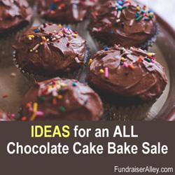 Chocolate Cake Bake Sale