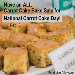 Carrot Cake Bake Sale