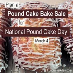 Pound Cake Bake Sale