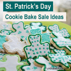 St Patricks Day Cookie Bake Sale