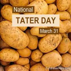 National Taters Day, March 31