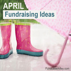 April Fundraising Ideas