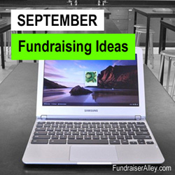 September Fundraising Ideas