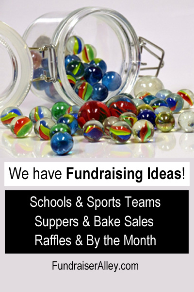 We Have Fundraising Ideas!