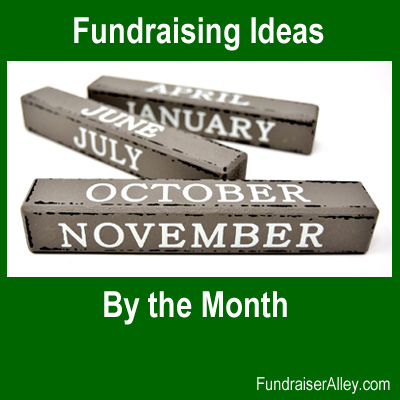 Fundraising Ideas by the Month