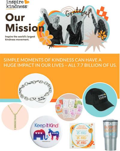 Inspire Kindness Brochure Cover