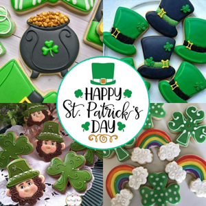 st patricks day cookie cutters