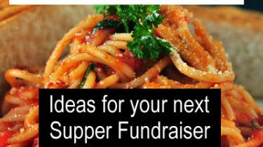 Supper Fundraiser Ideas