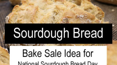 Sourdough Bread Bake Sale Idea