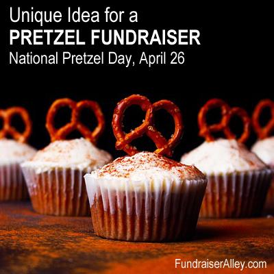 Pretzel Cupcakes - Unique Idea for a Pretzel Fundraiser!
