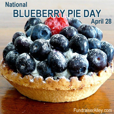 National Blueberry Pie Day, April 28