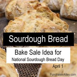 Sourdough Bread Bake Sale Idea
