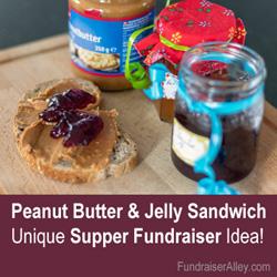 PBJ Sandwich Supper Fundraiser Ideas