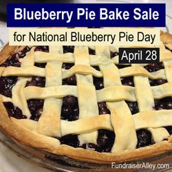 Blueberry Pie Bake Sale