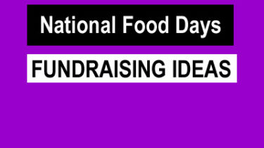 April National Food Days Fundraising Ideas